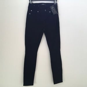 Women 7 For All Mankind black  jeans size 24